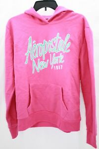 Aeropostale New York Pink and Blue Sweatshirt Hoodie Size ...