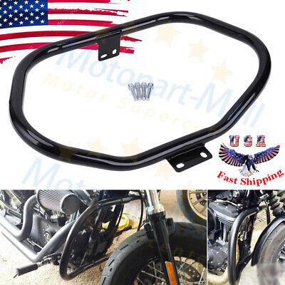 Motorcycle Mustache Engine Highway Guard Crash Bars For Harley Sportster 2004-18