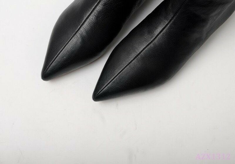 Winter Winter Winter Clubwaer Ankle Boot Donna Shoe Pointy Toe Falt Sexy Simple Comfort PullOn c1262a