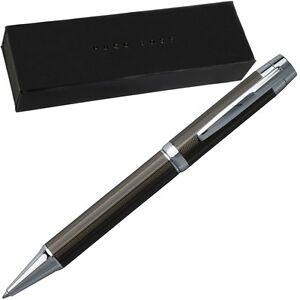 HUGO-BOSS-Kugelschreiber-Schreibgeraet-Collection-Spicy-Black-Pen-With-Gift-Box