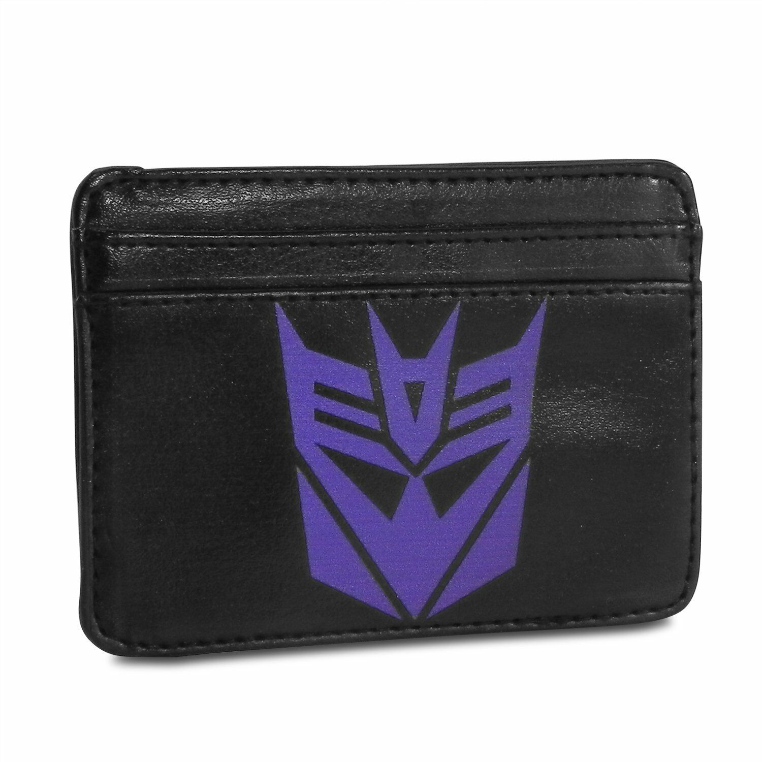 Transformers Decepticons Logo Synthetic Leather Credit Cards Weekend Wallet