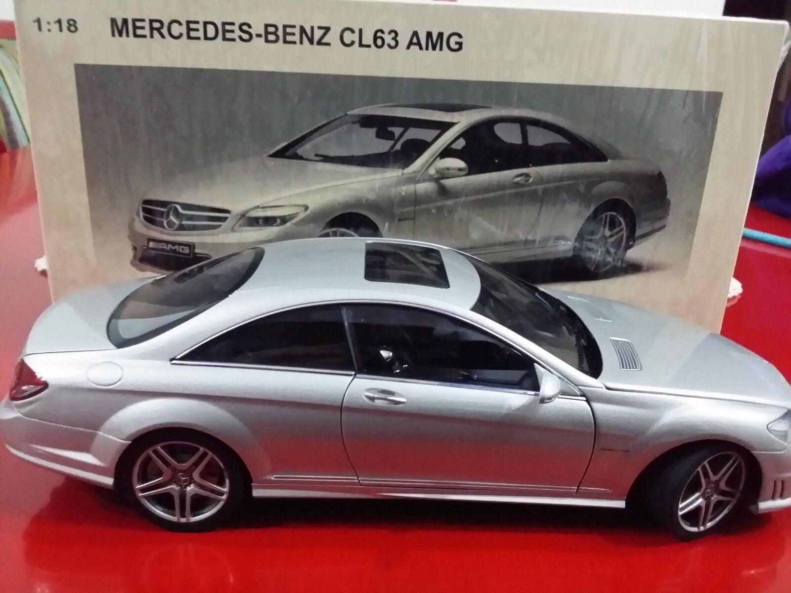 Mercedes benz cl63 amg autoart 1 18