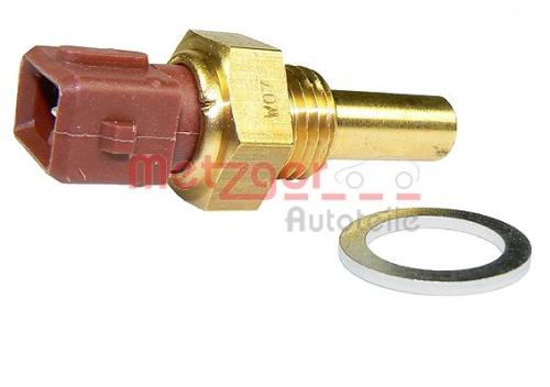 Sensor, Kühlmitteltemperatur für Gemischaufbereitung METZGER 0905143