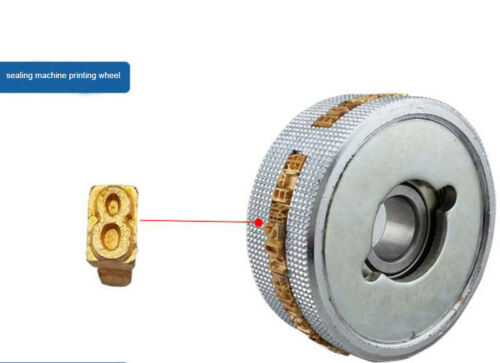 Pure copper conve/&concave character for continuous sealing machine FR-900 FR-770