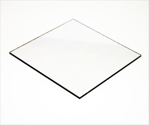 9.5 mm Polycarbonate CLEAR UV Sheet 600mm x 400mm-Machine Guards,Pool Fence,Boat