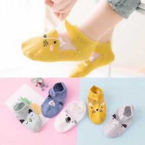 5-Paires-Bebe-garcon-fille-Cartoon-coton-chevilles-chaussettes-nouveau-ne-Infant-Toddler-Soft