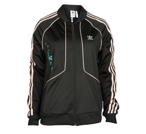 £ Top Kvinder Track Broderede Sst Sorte Størrelse Nye Originals Rrp Adidas 70 12 qwHPxWRS