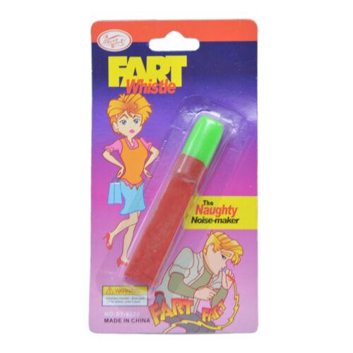 Classic Noise Joke Fart Whistle Toy Child Stocking Filler Xmas Christmas Gift w//