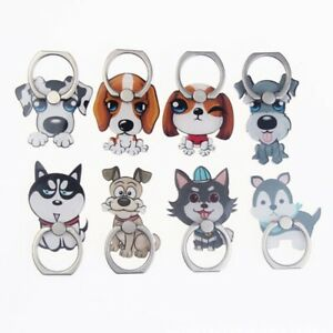 Cartoon-Dogs-Husky-Finger-Ring-Stand-Cute-Mobile-Phone-360-Grip-Holder-Amazing