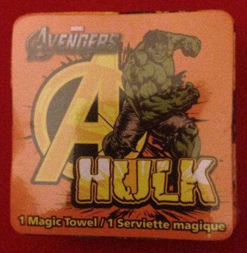 The Avengers Magic Towel Captain America Hulk Thor Iron Man Black Widow Hawkeye