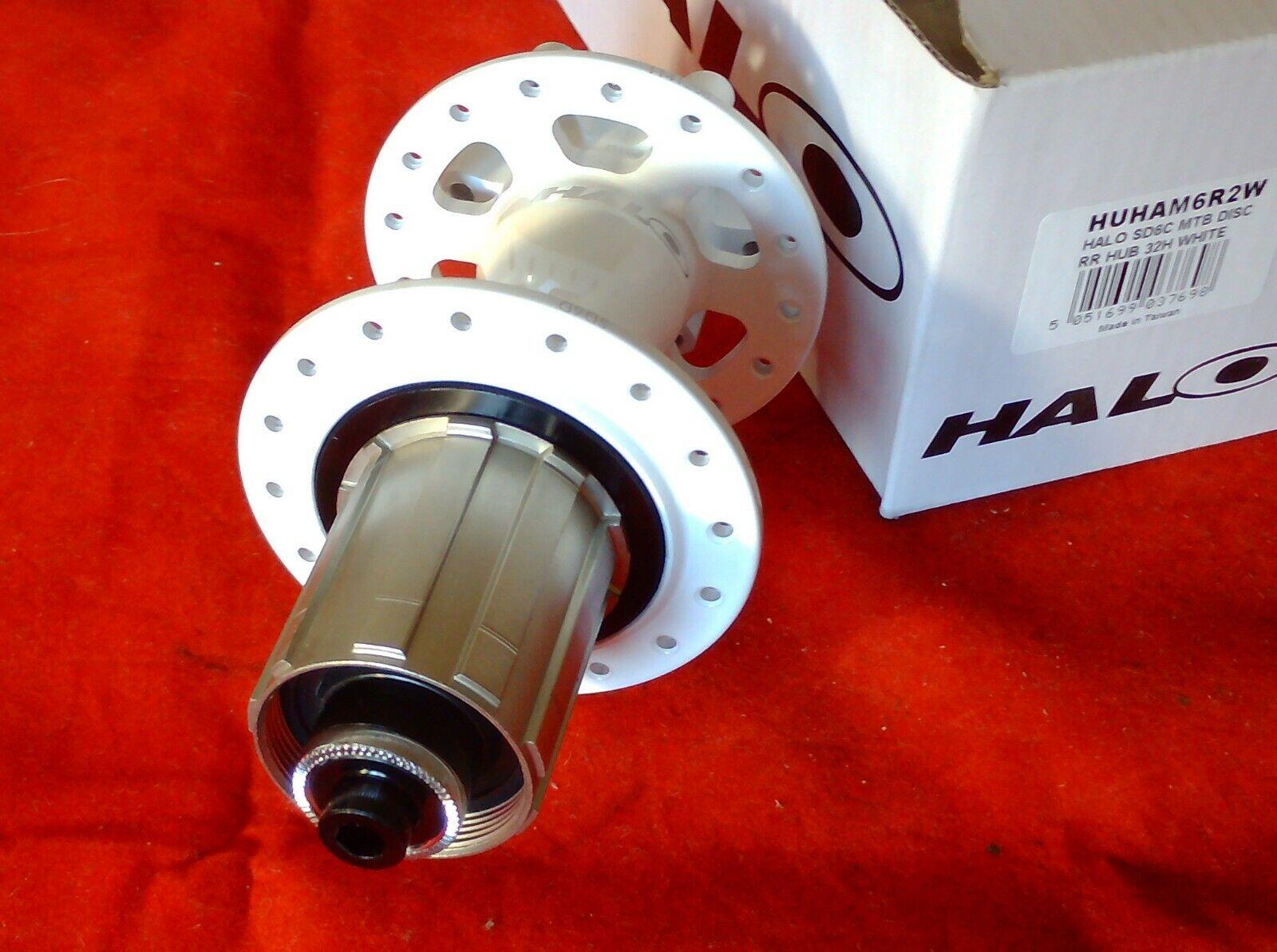 HALO SD6C buje trasero de bicicleta de montaña 48, 36 o 32 agujero
