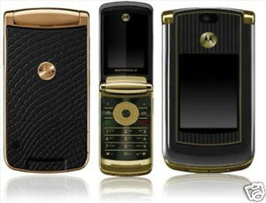 Motorola Razr2 V8 Unlocked Gold Luxury
