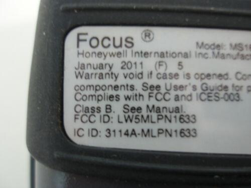 Metrologic MS1633 Wireless Bluetooth BT Barcode Scanner MADE IN 2011 1 YEAR WARR