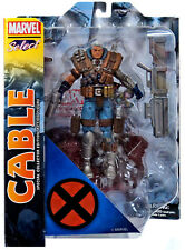 "MARVEL DIAMOND SELECT LEGENDS CABLE DELUXE 7"" ACTION FIGURE MIP X-MEN DEADPOOL"