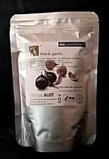 AUM Black Garlic -  Energizing Superfood- Immune Support (33-35 garlic bulbs!)