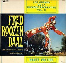 "FRED ROOZENDAAL ""MUSIQUE RECREATIVE"" VOL. 3, 60'S LP DUCRETET-THOMSON 300 V 142"