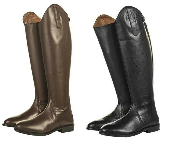 HKM Soft Leather Ladies Horse Riding Boots  Short  Length Wide Calf ALL SIZ