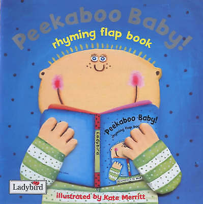 Peekaboo Baby!: Rhyming Flap Book (First Focus) by Mandy Ross, Acceptable Book (