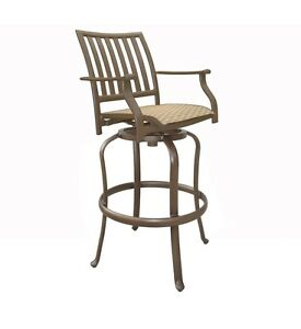 Fine Details About Christmas Panama Jack Outdoor Island Breeze Swivel Barstool 30In Patio Furniture Download Free Architecture Designs Scobabritishbridgeorg