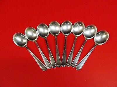 "Viking Rose by Marthinsen Sterling Silver Bouillon Soup Spoon 5/"""