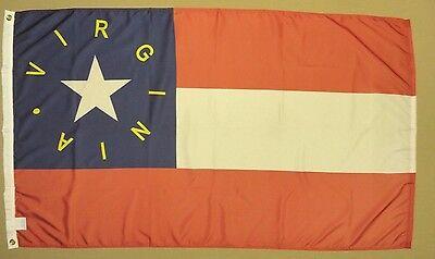 25th Virginia VA Infantry Reg Indoor Outdoor Historical Dyed Nylon Flag 3/' X 5/'