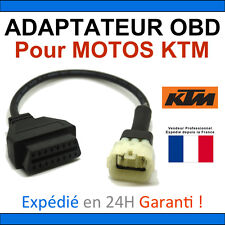 Adaptateur OBD2 vers KTM 6 voies - TUNE ECU - Compatible MOTOS KTM TUNEECU