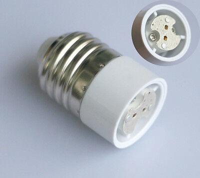 2x Sockel Adapter E27 auf G4 MR16 GU5.3 für LED o. Halogen Leuchtmittel Lampe