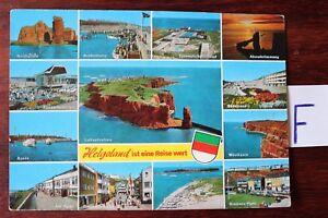 Carte Postale Vue Carte Schleswig-holstein île De Helgoland Est Un Voyage Valeur-tein Helgoland Ist Eine Reise Wert Fr-fr Afficher Le Titre D'origine ModèLes à La Mode