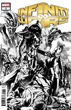 Infinity Wars 1D Martin 1:10 Variant NM 2018 Stock Image