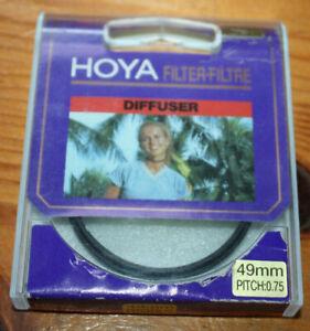 HOYA-FILTER-49-0-mm-x-0-75-DIFFUSER-NEW-in-box