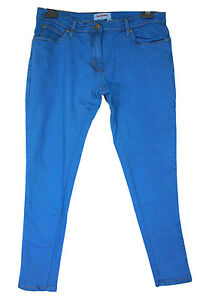 New John Banner Ladies Plus Size Royal Blue Skinny Jeans 16 - 28 ...