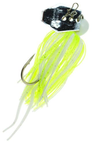 Z-Man ChatterBait Mini 1//4 oz Crappie Lure Small Bladed Swim Jig Zman Panfish
