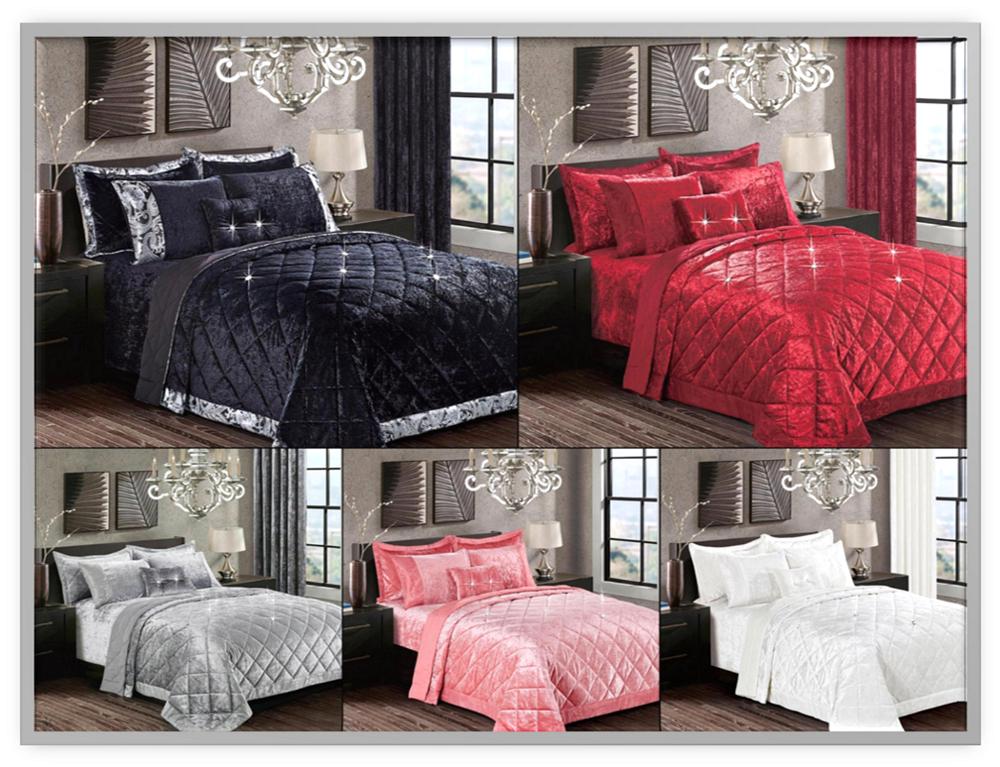 New Luxury SANTIAGO Bettspread Comforter Set