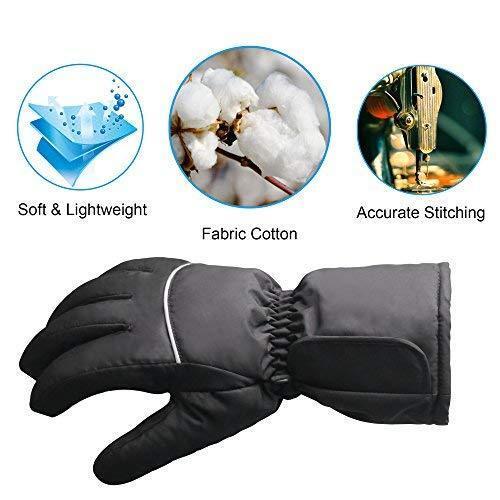 Guantes Térmicos Con Calefacción Para Salir Invierno Frio Eléctrico Caliente