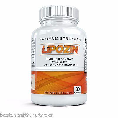 BEST Diet Pill HARDCORE Weight Loss Hoodia Fat Burner LIPOZIN
