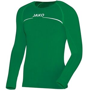 new style 8c455 2ac26 Details zu JAKO Thermo-Shirt Funktionsshirt grün S M L XL XXL  Funktionsunterwäsche langarm
