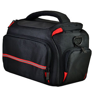 Large DSLR Camera Bag Case For Canon Eos 80D 100D 750D 700D 1200D 1300D (Black)