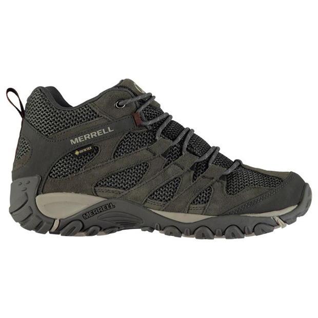 Merrell Alverstone Mid Gore-Tex Walking Stiefel Mens UK 8.5 US 9 EUR 43 REF 1563