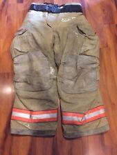 Firefighter Turnout Bunker Pants Globe 38x30 G Extreme Orange Trim 2007 Costume
