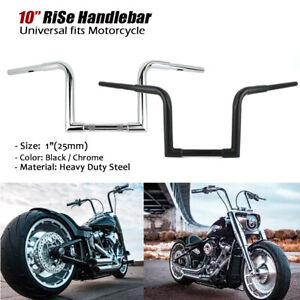 XMT-MOTO 10 Rise APE Hangers Bar 1 Fat Handlebar fits for fit Harley-Davidson Softail Sporster Custom