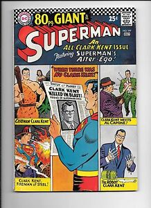 Superman-197-July-1967-80-page-giant-all-Clark-Kent-issue