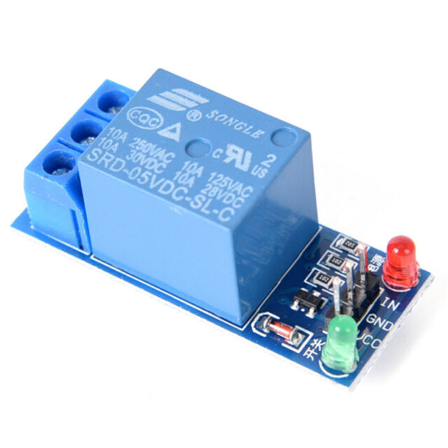 5V 1 Channel Relay Board Module Optocoupler LED For Arduino PIC ARM AVRE9C