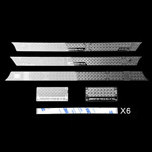 Para-Traxxas-TRX-6-G63-G500-RC-Car-Body-Decorative-Sticker-Anti-skid-Plate-Metal