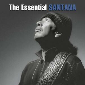 SANTANA-2-CD-THE-ESSENTIAL-GREATEST-HITS-BEST-OF-CARLOS-GUITAR-NEW