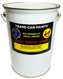 2k Acrylic Paint Direct Gloss ANY COLOUR OF YOUR CHOICE MIXED 5 Litre