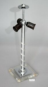 Tischlampe-Lampenfuss-3-flammig-E-27-zum-Restaurieren-799