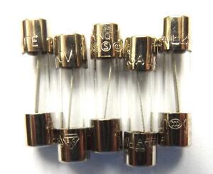 5mm x 20mm TIME-DELAY FUSIBILE IN VETRO 250V 0.2A 1A 2A 3A 4A 5A 6A 6.3A 8A 10A 15A