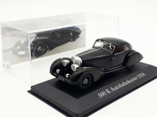 1:43 Altaya Mercedes 500K Autobahnkurier 1934 Modellauto #4167-4258-4253