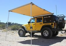 6.5' X 8' Rooftop Awning w/ Driving Cover w/ L brackets for Jeep, SUV & Tent