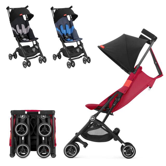 Gb Pockit All Terrain Y Lightweight Stroller Multi Adjustable Backrest